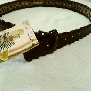 Betsy Johnson nwts belt